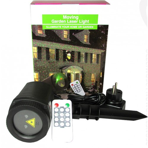 Уличный лазерный проектор moving garden laser light