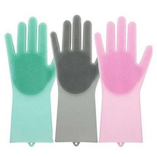 Силиконовые перчатки для мытья посуды Better Glove