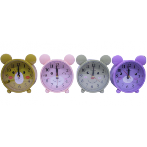 "Часы -будильник ""Мишка"" 13см"