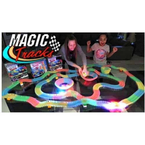 Гоночный Трек Magic Tracks 360 деталей + 2 машинки 3+