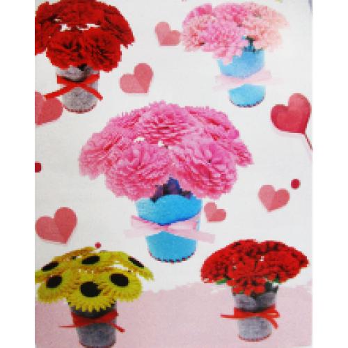 """Набор для творчества """"Сделай-вазу с махровыми цветами-фетр"""""""