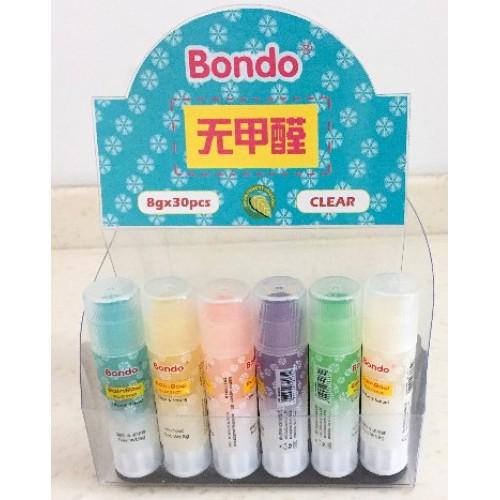 Клей карандаш Bondo 8г Rainbow (1шт)