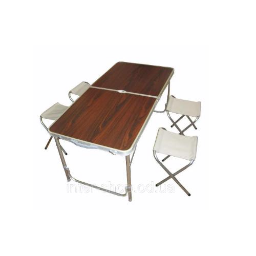 Набор для пикника Nestling Table (стол+4 стула)