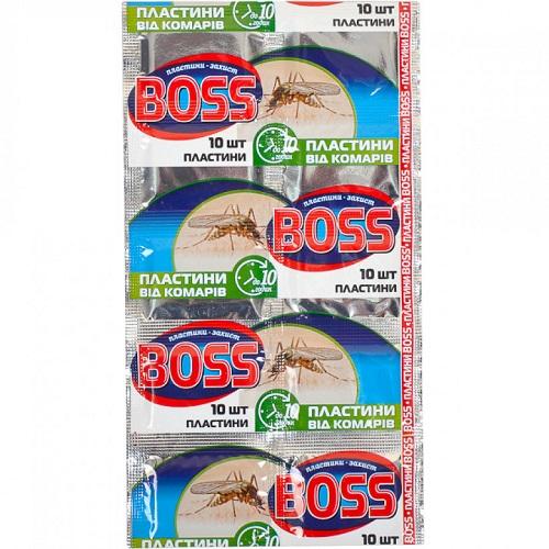 "Пластины для фумигатора ""BOSS"" (10шт)"