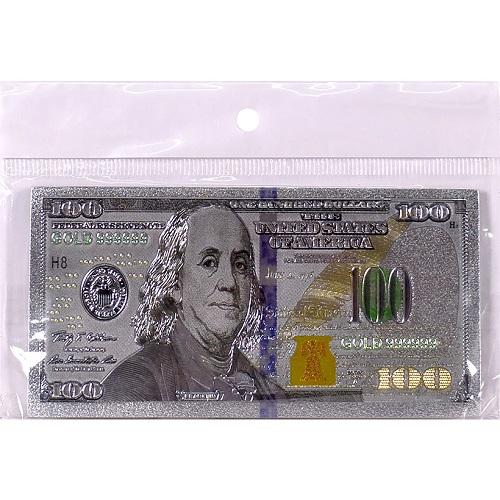 """Магнит """"100 долларов"""" прямоугольный"""
