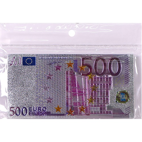"""Магнит """"500 евро"""" прямоугольный"""