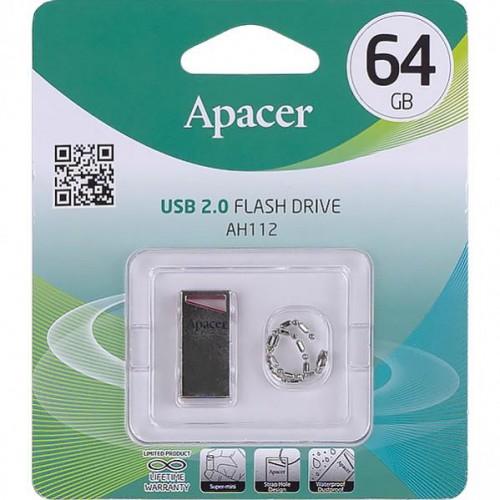 Флешка Apacer USB 64Gb AH326 White