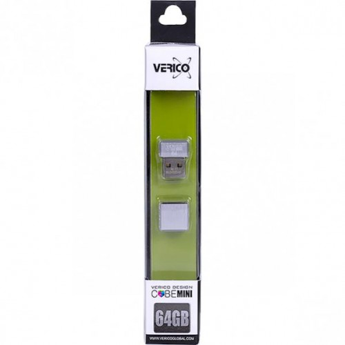 Флешка Verico USB 64Gb MiniCube Silver