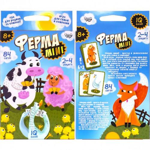 Розважальна настільна гра «Ферма Mini» на укр. 8+