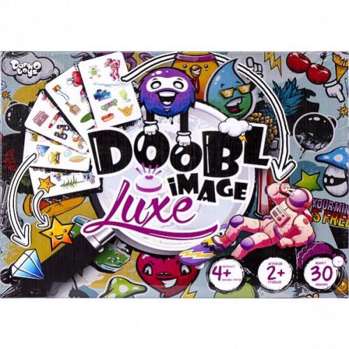 """Настольная развлекательная игра «Doobl Image LUXE"""" 4+"""