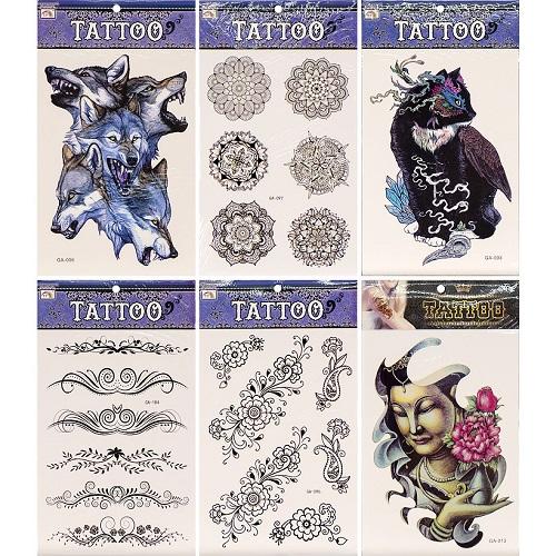"""Татуировки """"Tattoo"""" цветные GA"""