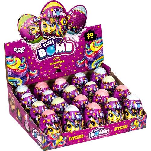 """Креативное творчество """"Bath Bomb"""" Pony - бомбочки для ванны с сюрпризом 9*5,5см"""