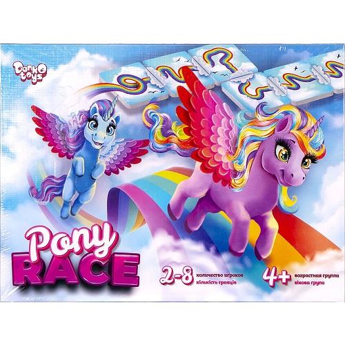 """Настольная игра """"Pony Race"""" 4+"""