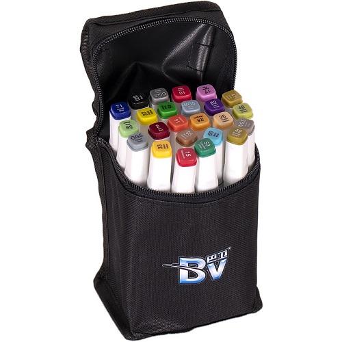 Набор скетч-маркеров 24цв в сумке