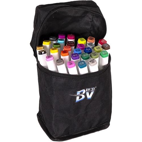 Набор скетч-маркеров 30цв в сумке