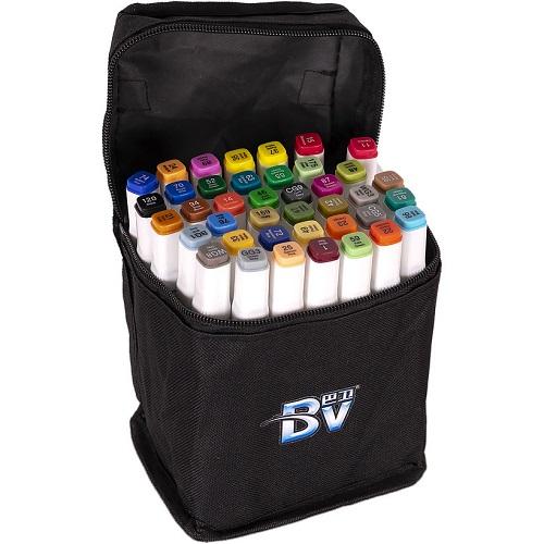 Набор скетч-маркеров 40цв в сумке