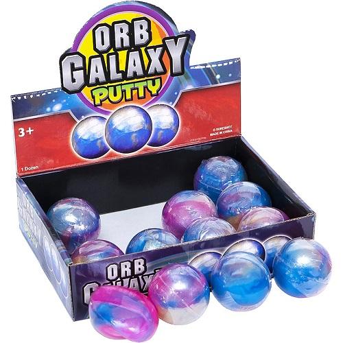 """Игрушка """"Лизун"""" ORB Galaxy putty Ø4см"""