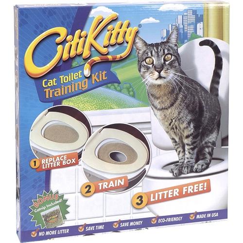Туалет для кошек для приучения к унитазу Citi Kitty Original