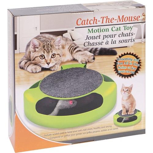 Игрушка для котов с когтеточкой сверху Catch The Mouse