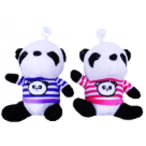 """Игрушка мягкая """"Панда в одежде"""" 17см"""