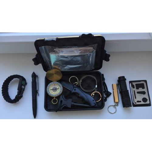 Туристический набор (набор для выживания) в коробке