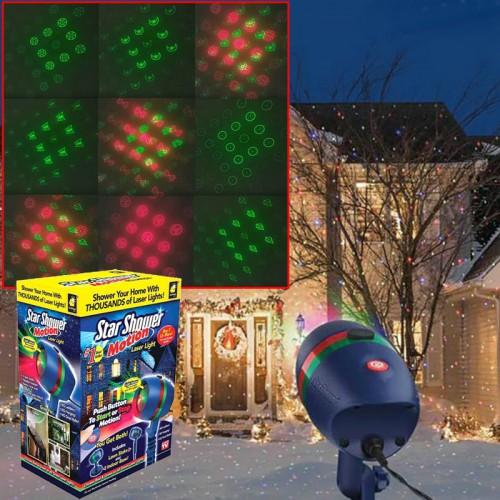 Новогодний проектов Star Shower Motion