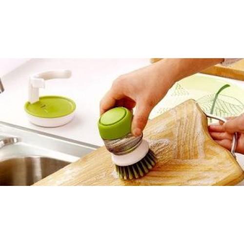 Щетка для мытья с диспансером для жидкого мыла Jesopb