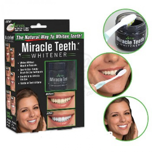 Отбеливатель зубов Miracle Teeth 100гр