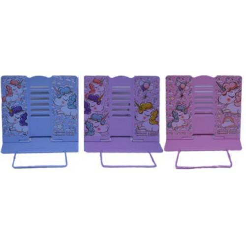 """Подставка для книг металлическая А5 (21*16,9*19см) """"Фламинго"""""""