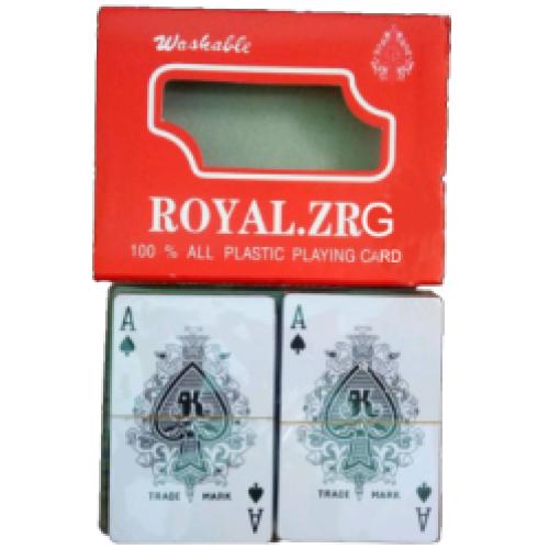 """Карты игральные пластиковые """"Royal"""" 2колоды=2*54шт"""