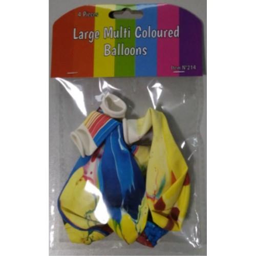 Шарики надувные цветные ''камуфляж'' 12' (4шт)
