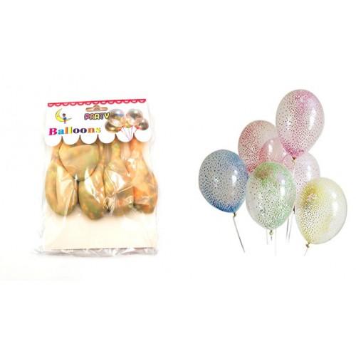 Шарики 12' с шарами из пенопласта (5шт)