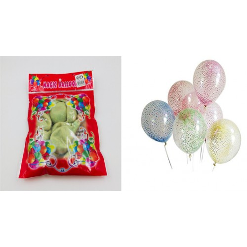 Шарики 12' с шарами из пенопласта (10шт)