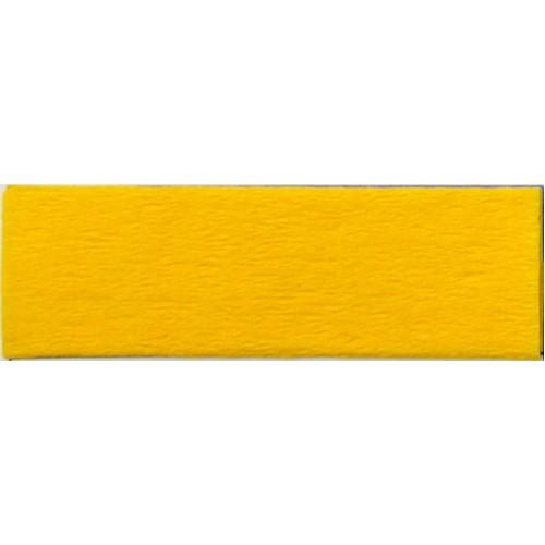 Бумага КРЕП, жёлтый мандарин, 50*200см, 35%, Китай