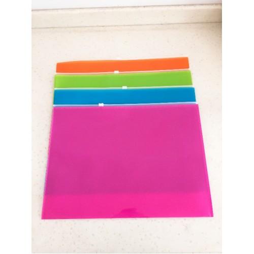 Папка на молнии А4, 160мкр, цветная
