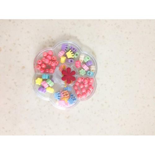 Набор детский для плетения из бисера ''цветок''