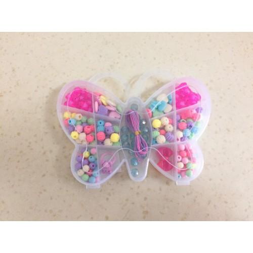 Набор детский для плетения из бисера ''бабочка''