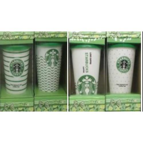 """Термо-стакан 440мл с силиконовой крышкой """" Starbucks"""" 9*12,5см"""