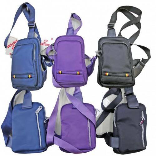 Рюкзак-сумка ДИАГОНАЛЬ 24*16*6см