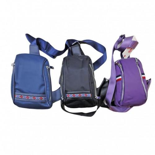 Рюкзак-сумка ДИАГОНАЛЬ 24*14*5см