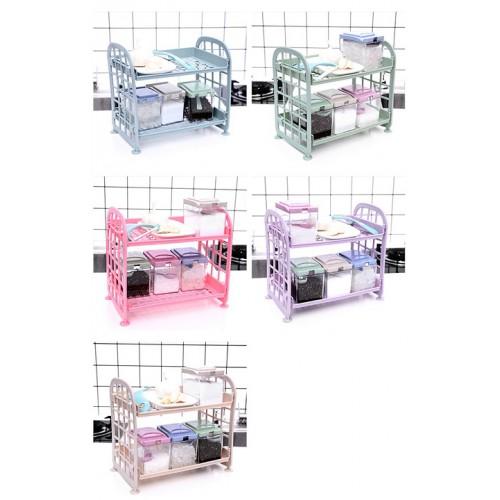Полка-органайзер для хранения цветная 200*215*135мм, пластик