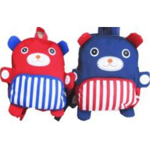 """Рюкзак детский  тканев.""""Медведь"""" 24*20см"""
