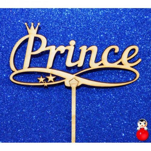 "Топпер  деревянный ""Prince"""