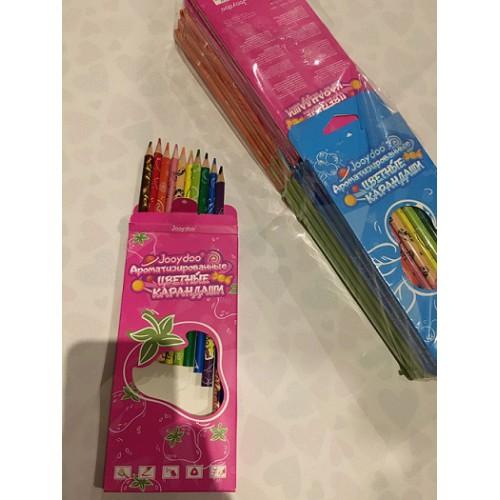 Набор ароматизированных цветных карандашей 12цв