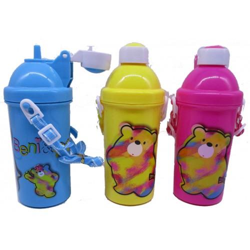 """Бутылка пластик. """"Неон медведь"""" 500мл"""