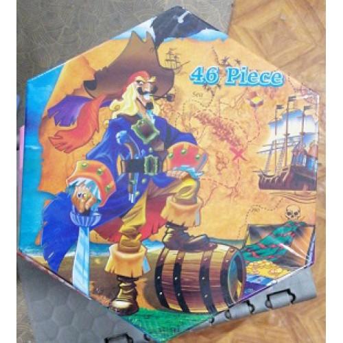 """Набор художника на 46 предметов """"Пираты"""""""