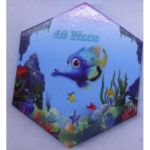 """Набор художника на 46 предметов """"Рыбка"""""""
