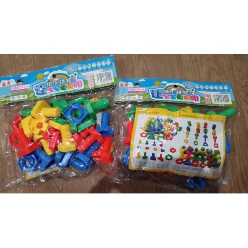 Конструктор Puzzle blocks «Винты»