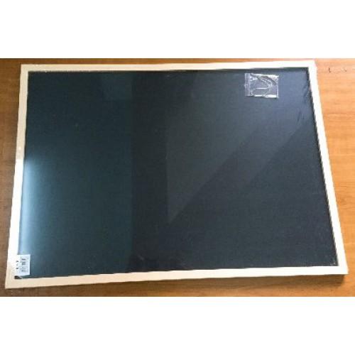 Доска для мела и маркера 40*60см, черная