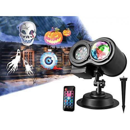 Праздничный лазер-проектор Projector with water wave light style